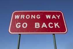 Bruk av feil-signal forsinker treningen