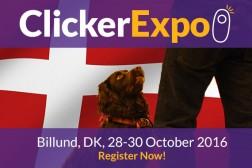 Bli med på ClickerExpo 28.-30. oktober!